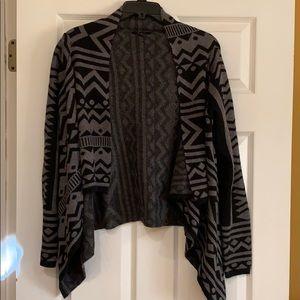 Zaria black and gray cardigan